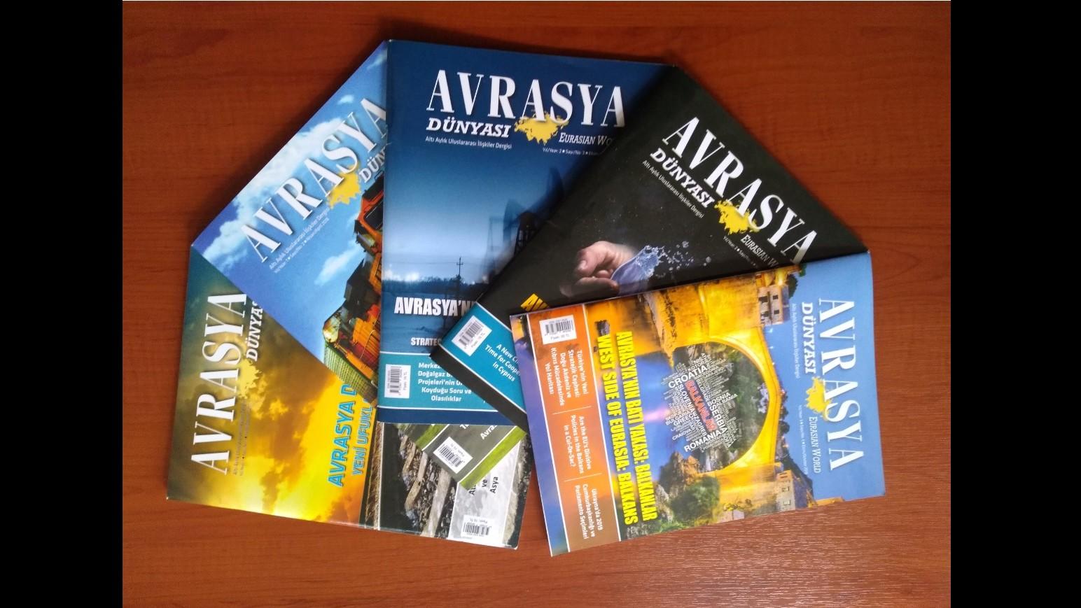 ANNOUNCEMENT: AVRASYA DÜNYASI / EURASIAN WORLD - CALL FOR PAPERS