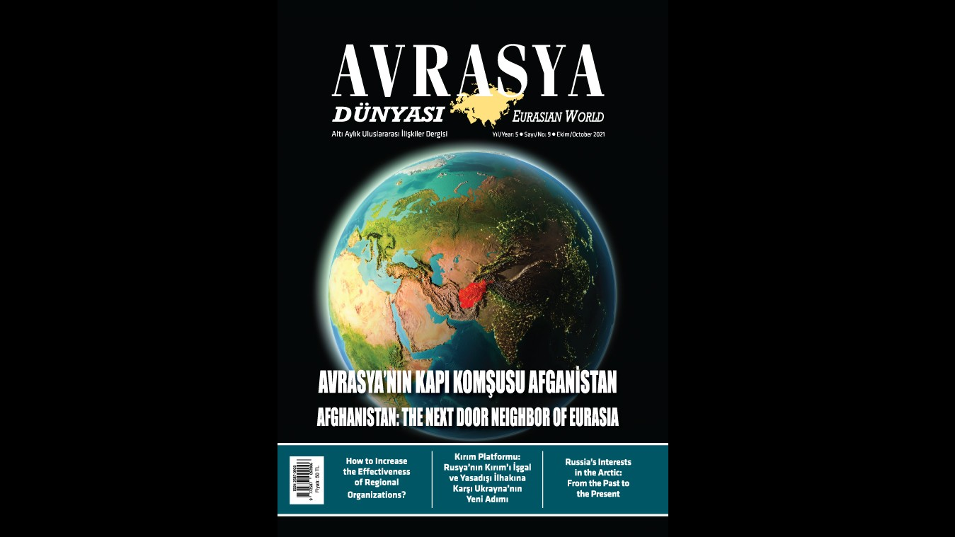 DUYURU: AVRASYA DÜNYASI / EURASIAN WORLD DERGİSİNİN 9. SAYISI YAYIMLANDI